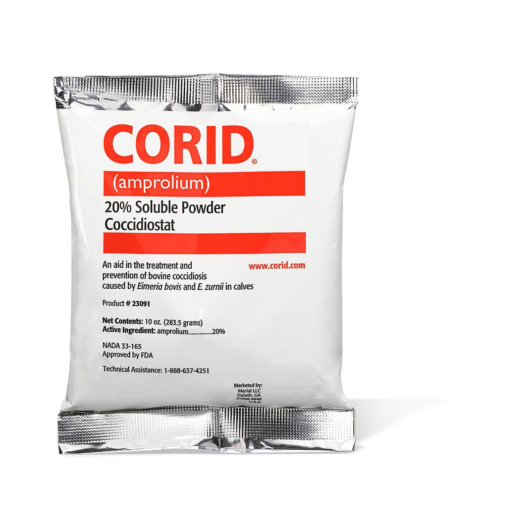 CORID Products Prevention and Treatment of Coccidiosis